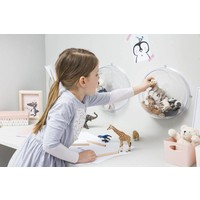 Koziol Orion storage ball transparent