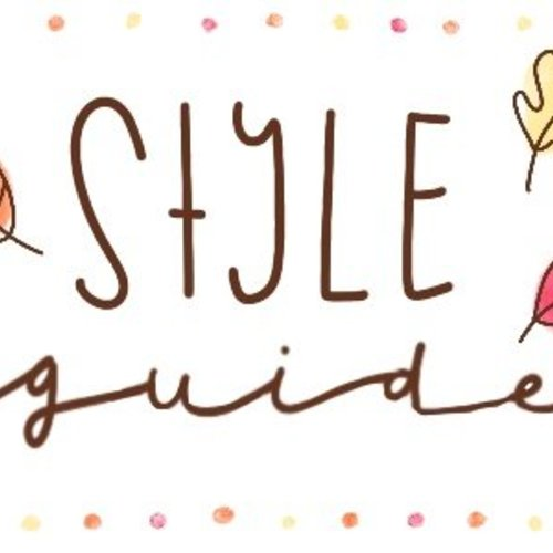 STYLE GUIDE || Herfst