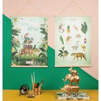 Little & Pure Talkboards In den Tropen 50 x 70