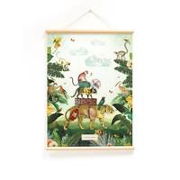 Little & Pure Praatplaten In de tropen 50 x 70
