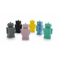 KG Design-Geldkasten blauer Roboter