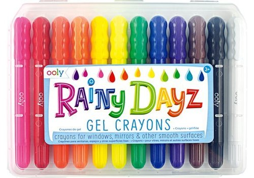Ooly Rainy Dayz gel wax crayons