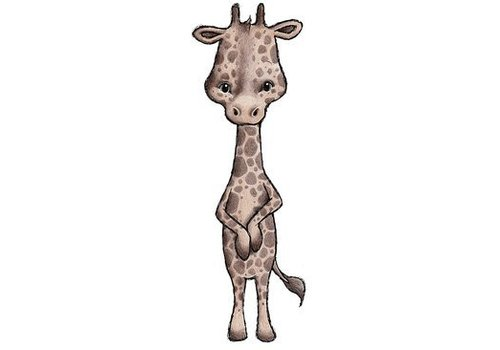 Stickstay muursticker Jax the giraffe
