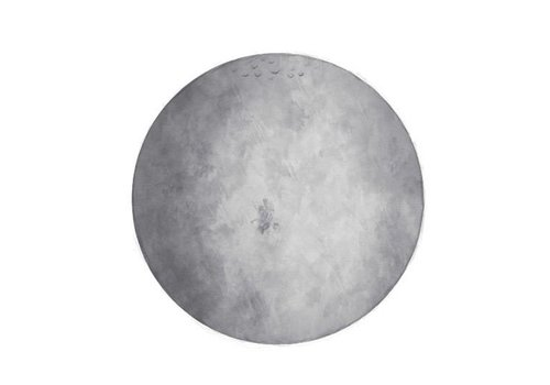 Stickstay wall sticker Moon gray