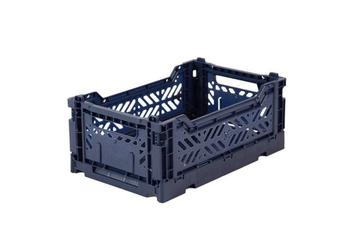 Aykasa folding crate mini navy