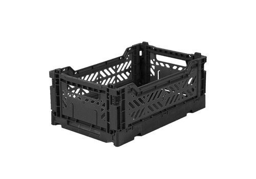 Aykasa folding crate mini black