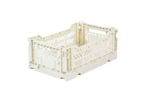 Aykasa folding crate mini Coconut Milk