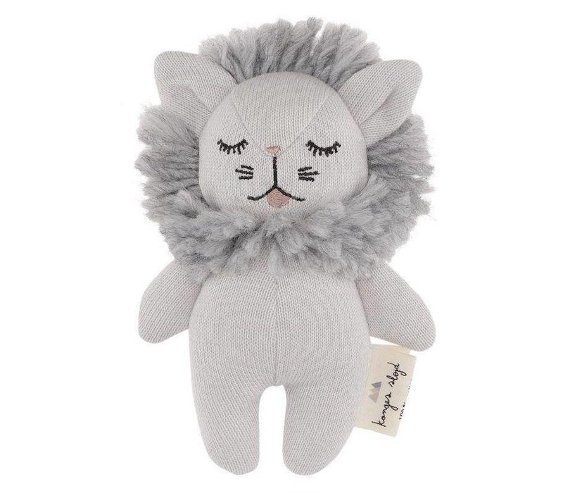 Konges Sløjd Mini-Löwenrassel Grey Melange