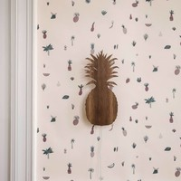 Ferm Living wallpaper Fruiticana Pink
