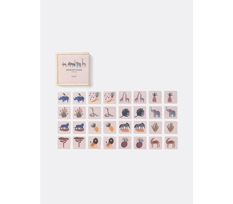 Ferm Living Safari Memory spel
