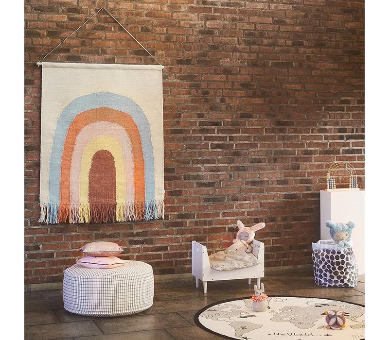 OYOY Follow the Rainbow rug