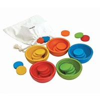 Plane Toys sortiere und zähle Container