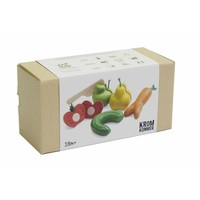 Plan Toys Wooden Cutting Set Fruit and vegetables Kromkommer