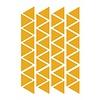 Mrs. Strawberry 44 wall stickers triangle ocher 4cm