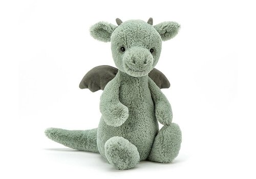 Jellycat knuffel bashful dragon medium