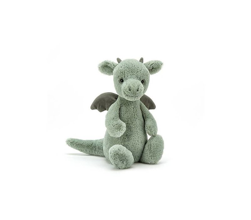 Jellycat knuffel bashful dragon small