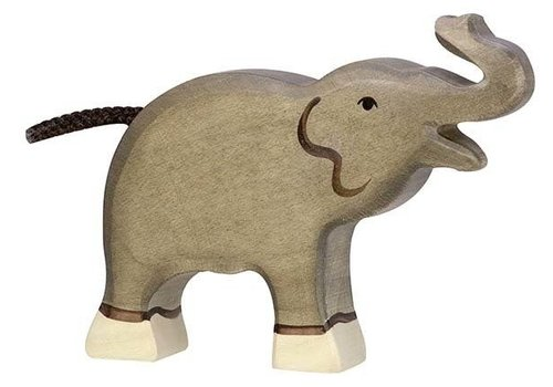 Holztiger elephant small trunk up 12 cm