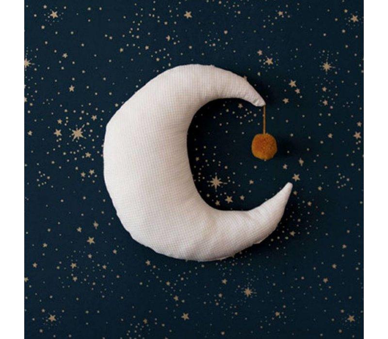 Nobodinoz Kissen Mond natürlich