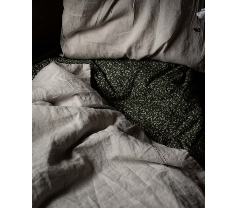 Garbo & Friends Kinderbett Spannbetttuch Floral Moss