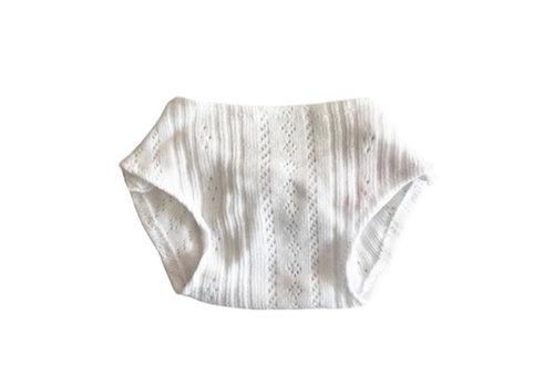 Minikane weiße Unterhosen