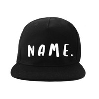 Handgeschriebener Name der VanPauline-Kappe