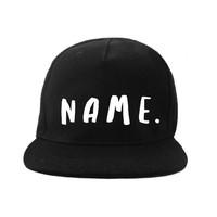 VanPauline Mütze handgeschriebener Name