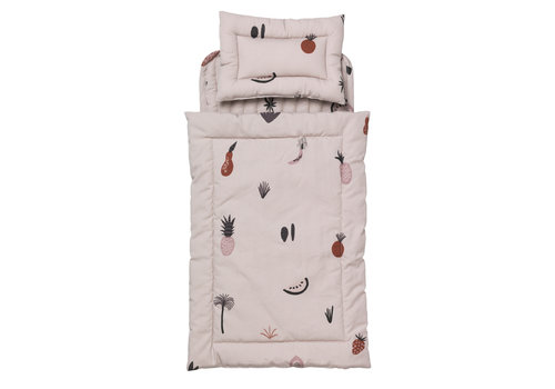 Ferm Living Fruiticana quilt poppen beddengoed
