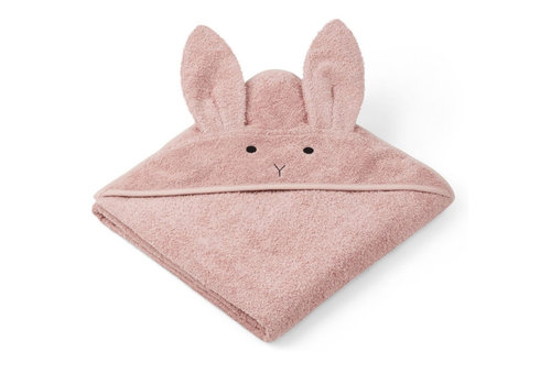 Liewood rabbit pink rose 100x100