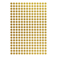 Ms 280 Strawberry Wandaufkleber Goldpunkte 1 cm
