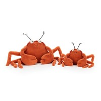 Jellycat Hug Crispin Crab klein
