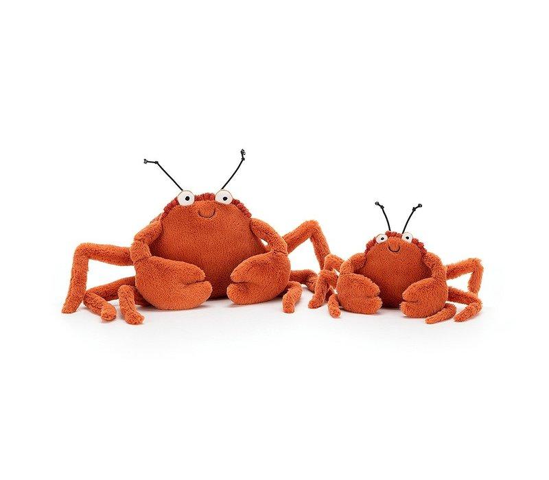 Jellycat knuffel crispin crab small