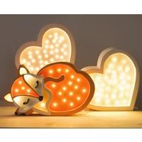 Little Lights lamp Fox Wild Orange
