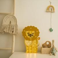 Little Lights lamp Lion African Yellow