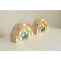 Kleine Lichter Lampe Regenbogen Retro Mini