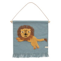 OYOY Jumping Lion wall hanging