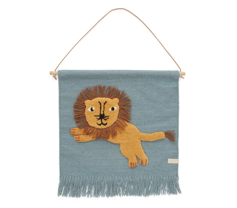 OYOY Jumping Lion wandkleed