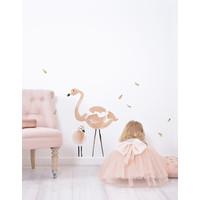 Lilipinso Wandaufkleber Flamingo XL