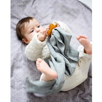 Konges Sløjd 3 pack hydrophilic swaddle lime stone 65x65
