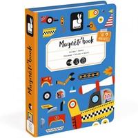 Janod Magnetbuch Fahrzeuge