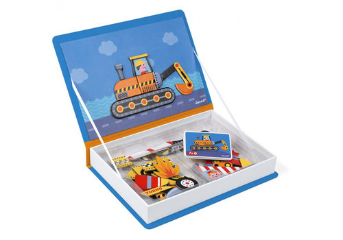 Janod magnet book vehicles