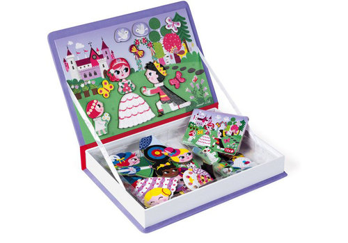 Janod magnet book princesses