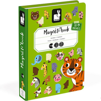 Janod Magnetbuch Tiere