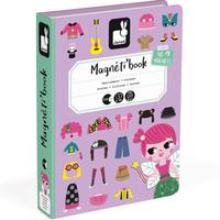 Janod magnet book fancy dress party girls
