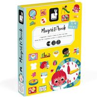 Janod Magnet Buch Uhr