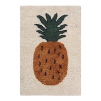 Ferm Living Fruiticana Ananas vloerkleed small