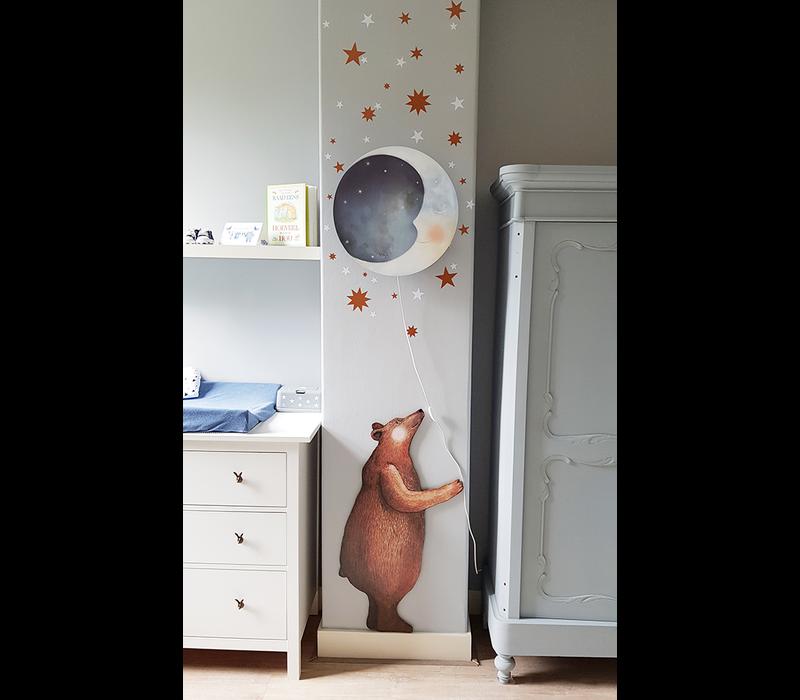 Herz Dieb Wandaufkleber Big Bear