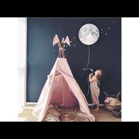 Hartendief Wandleuchte schlafen Mond!