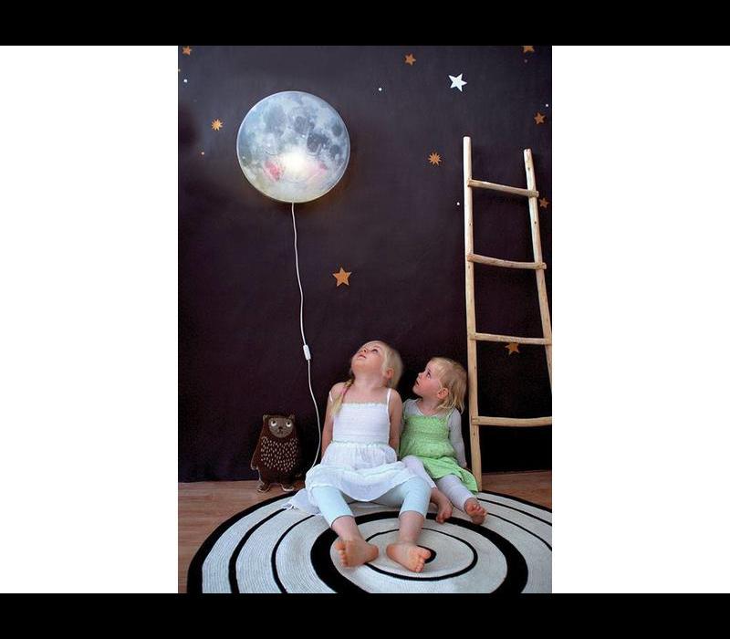 Hartendief wandlamp ga slapen maan!