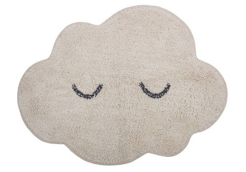 Bloomingville Mini rug cloud natural