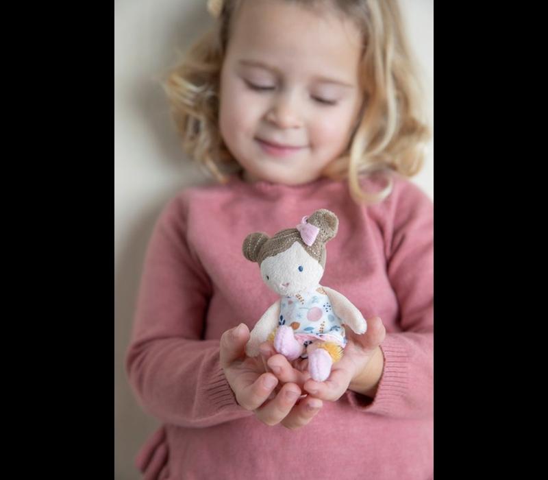 Little Dutch Knuffelpop Rosa - 10 cm
